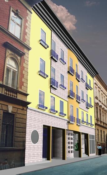 Huszonnégy lakásos lakóépület, Budapest IX. Viola utca