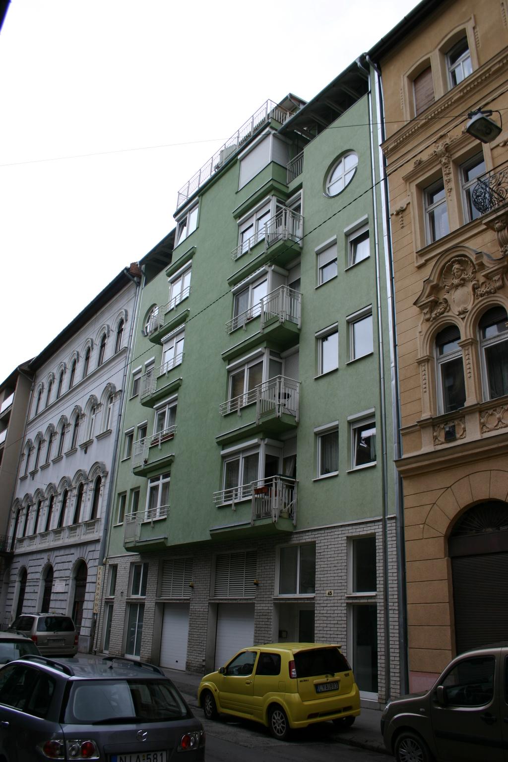 25 lakásos lakóépület, Budapest, VI. Szív utca 45.