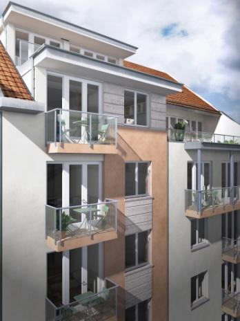 25 lakásos lakóépület, Budapest, VI. Szív utca 61.