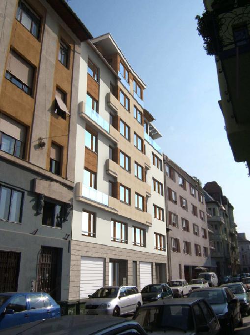 23 lakásos lakóépület, Budapest IX. Práter utca