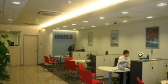 Erste Bank fiókok